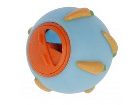 Kerbl Míček na pamlsky pro králíky, modrý, 7 cm