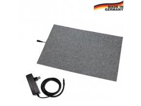 THERMODOG výhřevná podložka pro psy, topný koberec 58 x 80 cm, 24 V / 50  W, ochrana odním. kabelu
