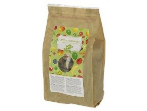 Pamlsek pro koně DELIZIA grain free, bylinky, 1 kg