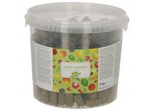 Pamlsek pro koně DELIZIA grain free, bylinky, 3 kg