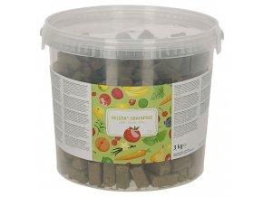 Pamlsek pro koně DELIZIA grain free, jablko , 3 kg