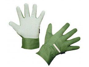 Pracovní rukavice MalGardo pánské, vel. 10, zelené