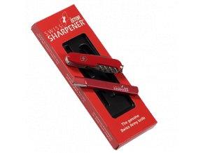 Brousek na kopytní nože iSTOR STANDARD SWISS, kovový, 10 cm, sada s nožem