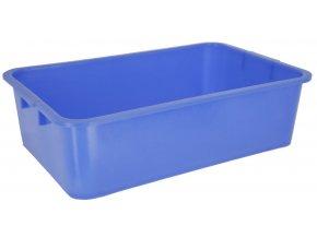 Univerzální vana desinfekční plastová modrá, 63 x 39 x 17 cm, 29,5 L