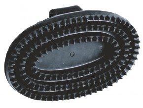 Hřbílko gumové oválné, černé