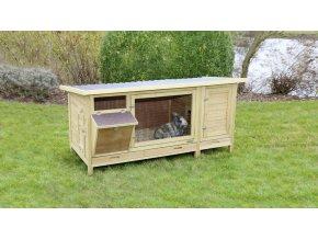 Králíkárna Hutch XXL Vario - kotec pro králíky, 155 x 76 x 80 cm