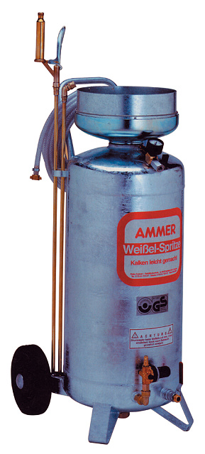 Rozprašovač tlakový - přístroj na bílení Ammer, max. 36 l