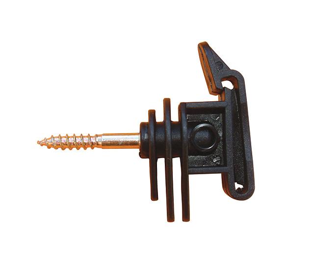 Izolátor páskový pro elektrický ohradník, s vrutem