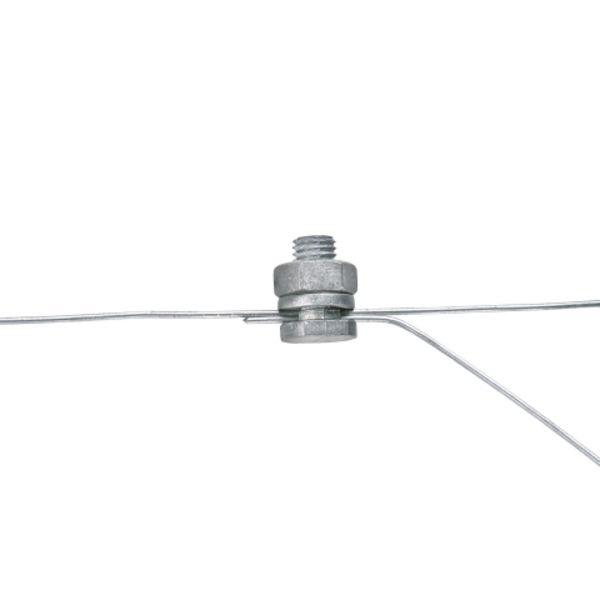 Spojka na drát pro elektrický ohradník, pozinkovaná