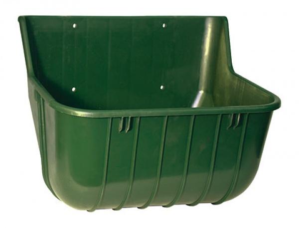 Žlab krmný pro koně/skot, 15 l, zelený