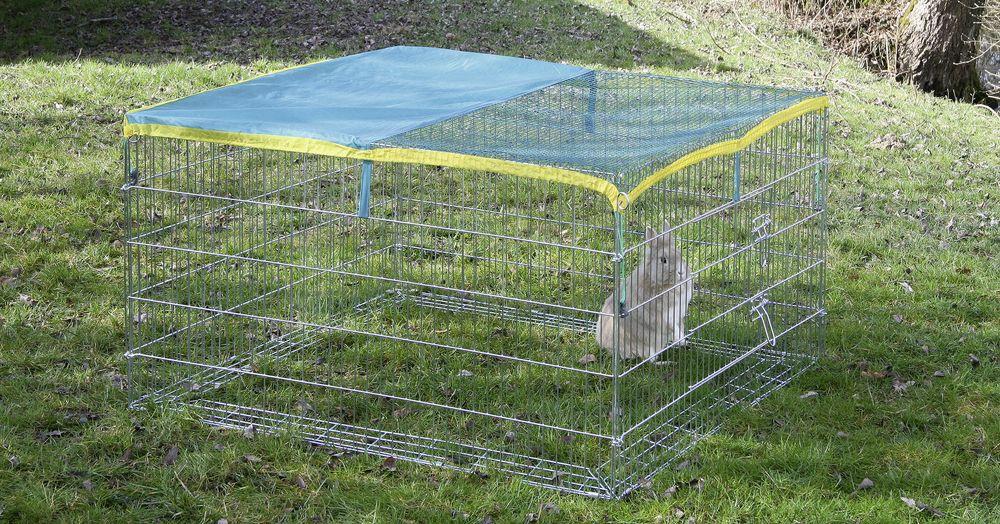 Výběh pro králíky, morčata a jiné hlodavce 115x115x65cm