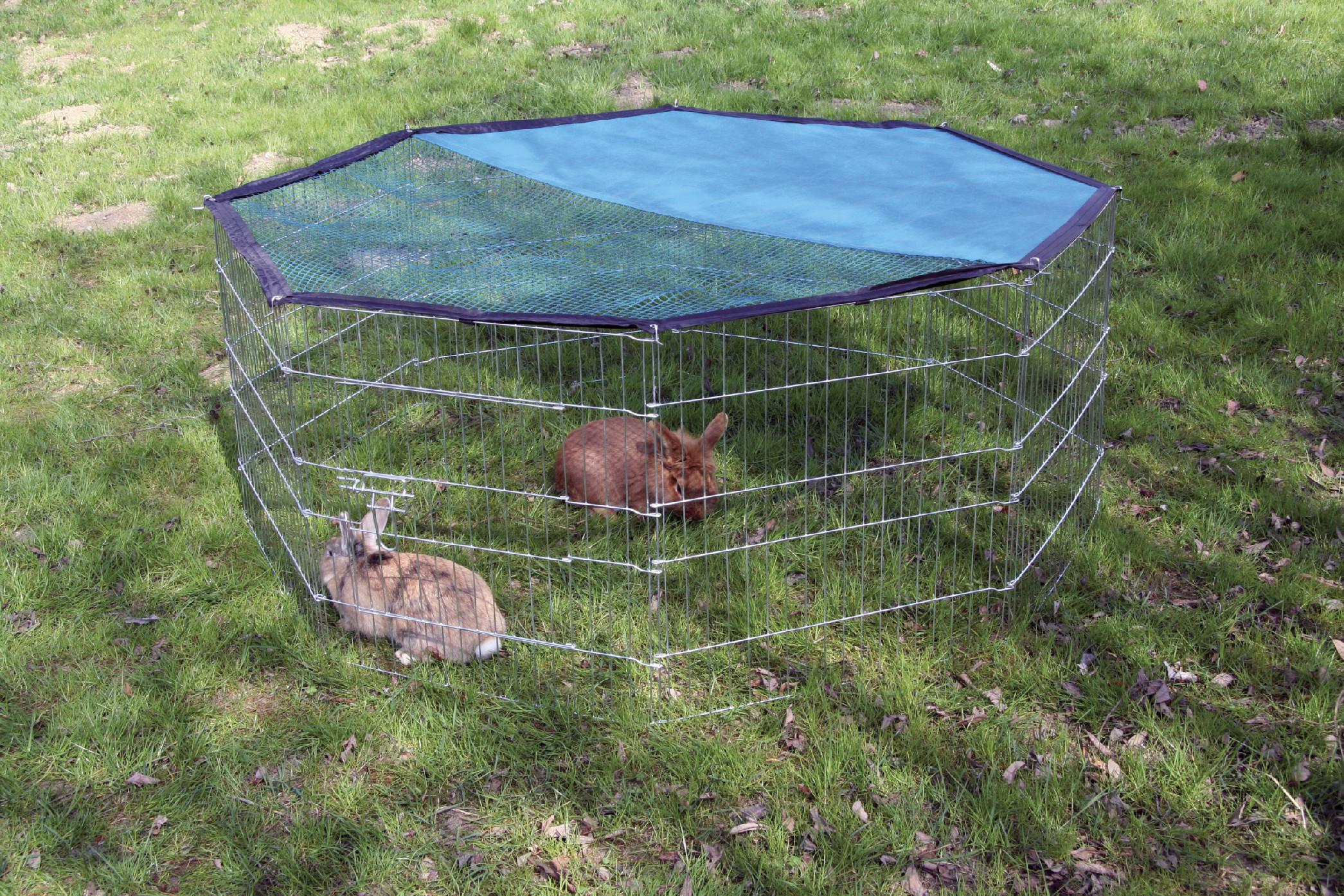 Výběh pro králíky a jiné hlodavce, osmistěnný