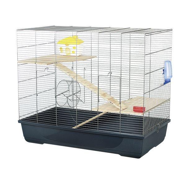 Klec pro křečky, morčata, myši a jiné hlodavce Maxima 100