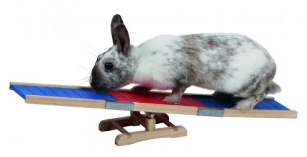 Agility překlápěcí  překážka pro králíky a jiné hlodavce - králi