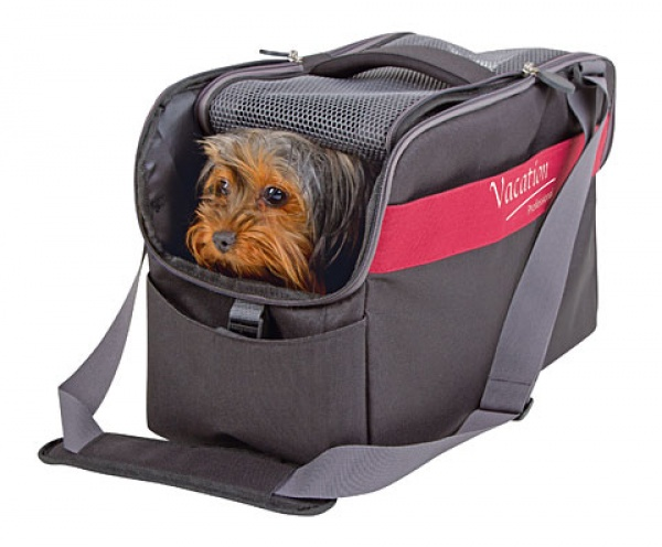 Cestovní taška pro psy Vacation 44x20x27 cm