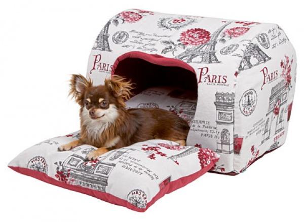Kukaň PARIS pro psy, látková bouda