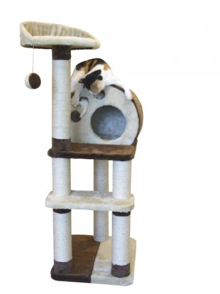 Odpočívadlo, Škrabadlo pro kočky PLANET X /127cm/