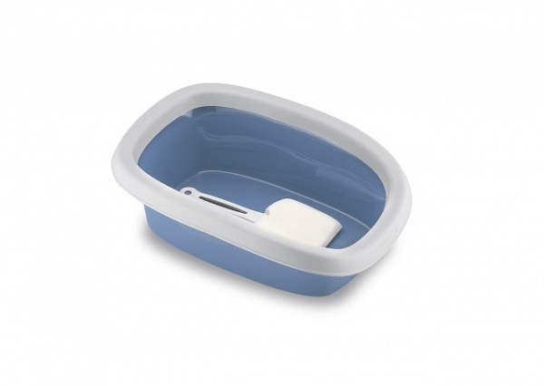 STEFAN PLAST Toaleta pro kočky Sprint 20, 58x39x18cm, pastel.modrá