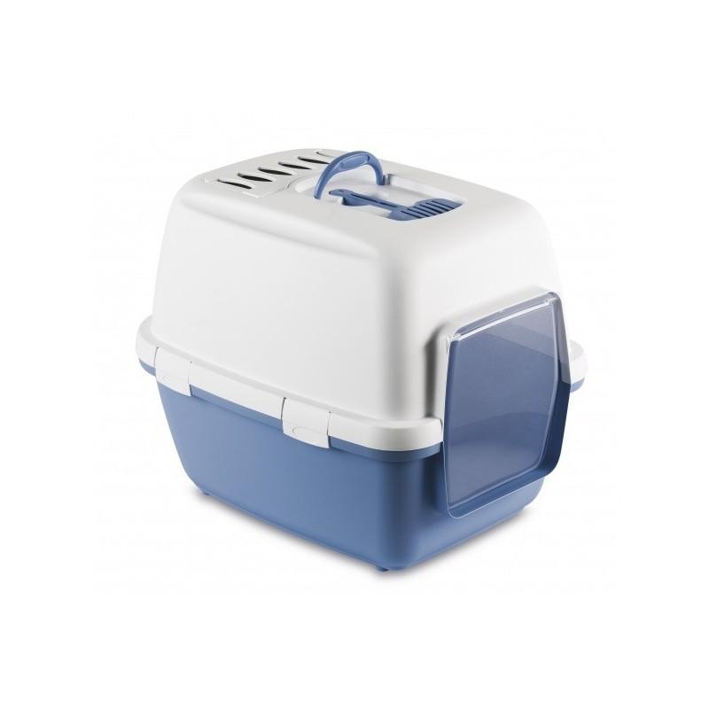 STEFAN PLAST Toaleta pro kočky Cathy Comfort, 58x45x48, pastel.modrá