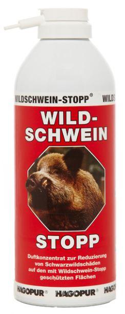 STOP divočákům - Wildschwein-STOPP - Hagopur, pachový ohradník, 400 ml, červený