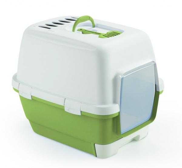 STEFAN PLAST Toaleta pro kočky Cathy Clever & Smart, pastel.zelená