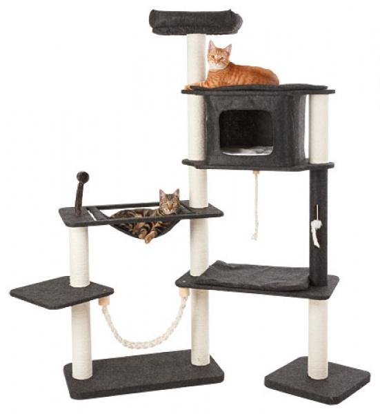 Škrabadlo pro kočky Frieda - kočičí domek