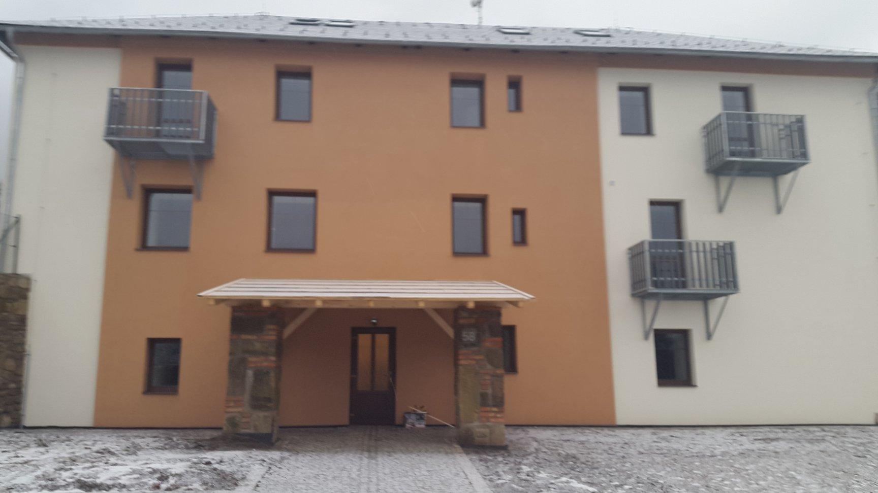 Bytový dům v obci Albrechtice u Lanškrouna