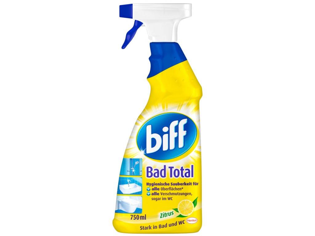 Biff čistič WC a koupelny s vůní citronu 750 ml
