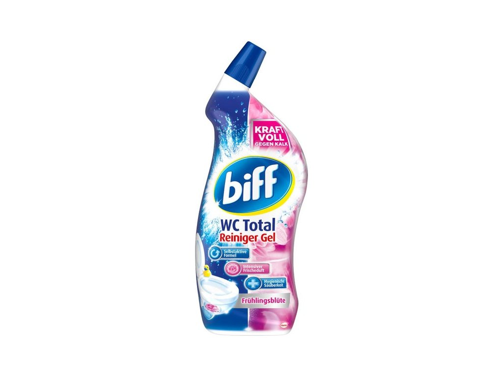 Biff WC Total gelový čistič s vůní jarních květin 750ml