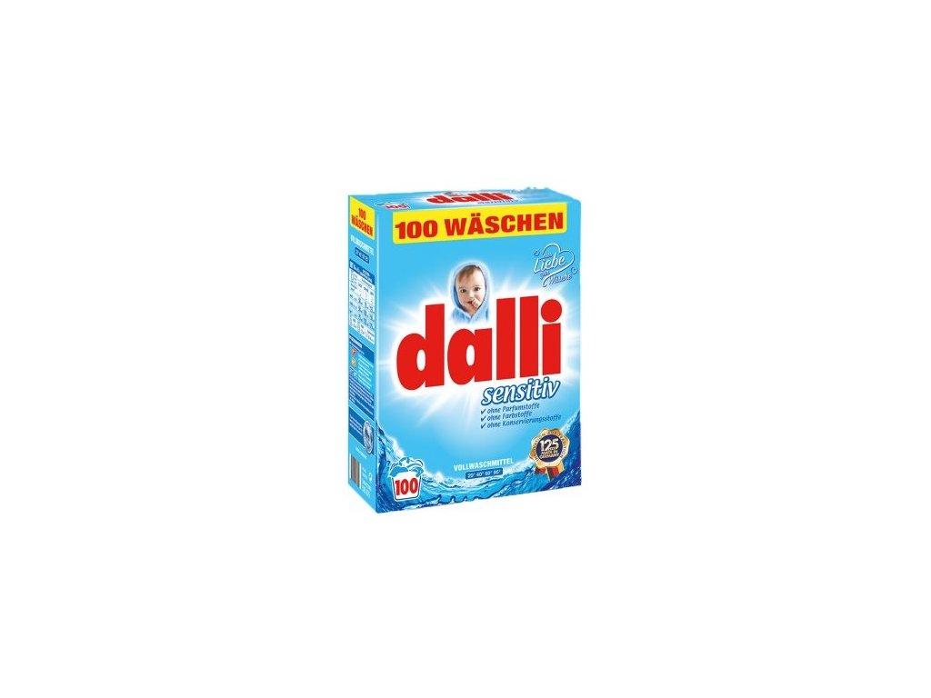 Dalli Sensitiv prací prášek pro citlivou pokožku 6,5 kg, 100 PD