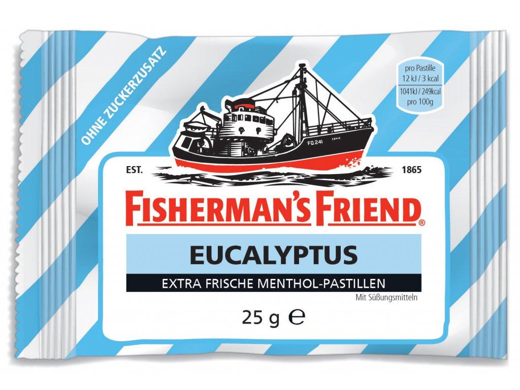 Fisherman´s Friend EUCALYPTUS pastilky bez cukru 25 g