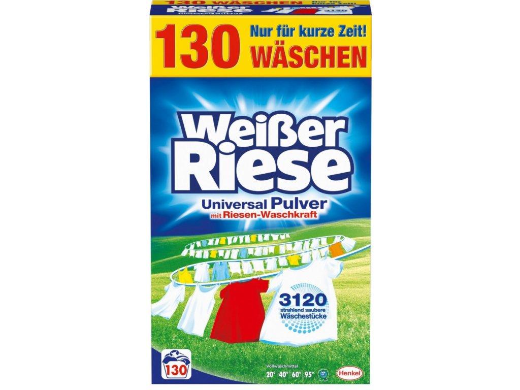 Weisser Riese Univerzální prací prášek 130 dávek, 7,15 Kg2