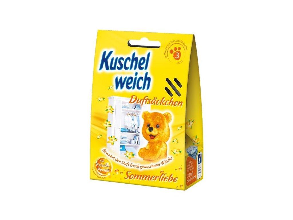 Kuschelweich Sommerliebe vonné sáčky do skříně 3 ks