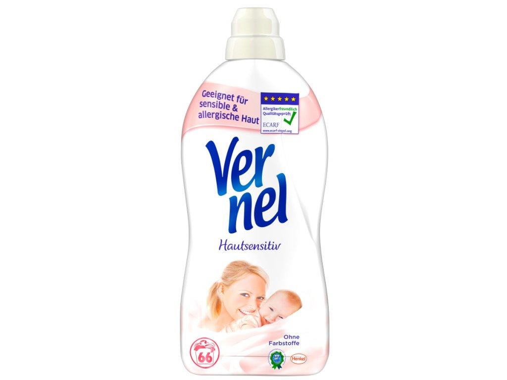 Vernel Hautsensitiv hypoalergení aviváž 2 l, 66 dávek
