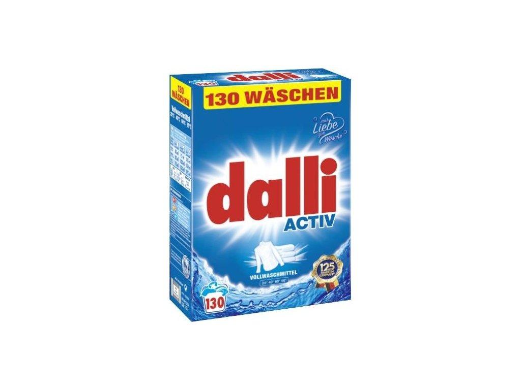 Dalli Activ Univerzální prací prášek 130 dávek, 8,45 Kg