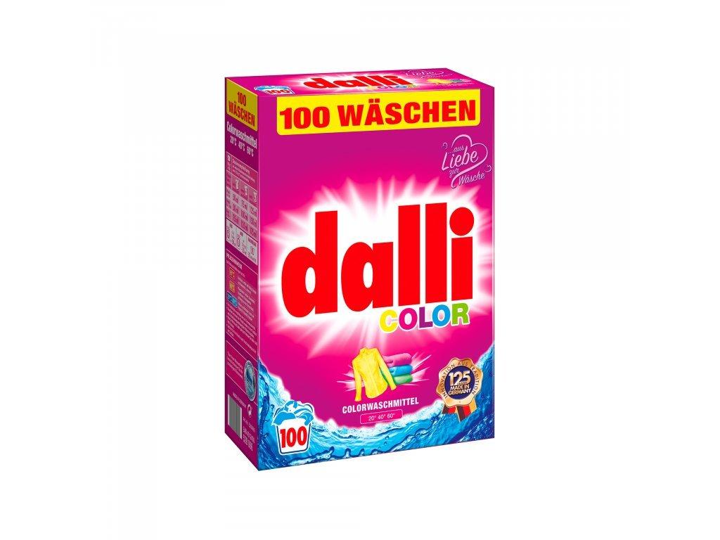 Dalli Color prací prášek 100 dávek, 6,5 Kg