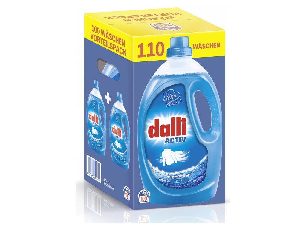 Dalli Activ univerzální prací gel 110 dávek, 2 x 2,75 l