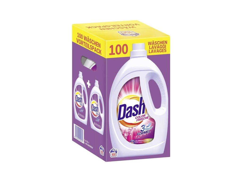 Dash Color Frische prací gel, 2 x 50, 100 PD