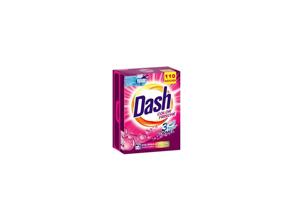 Dash prášek na praní barevného prádla 110 dávek, 7,5 Kg