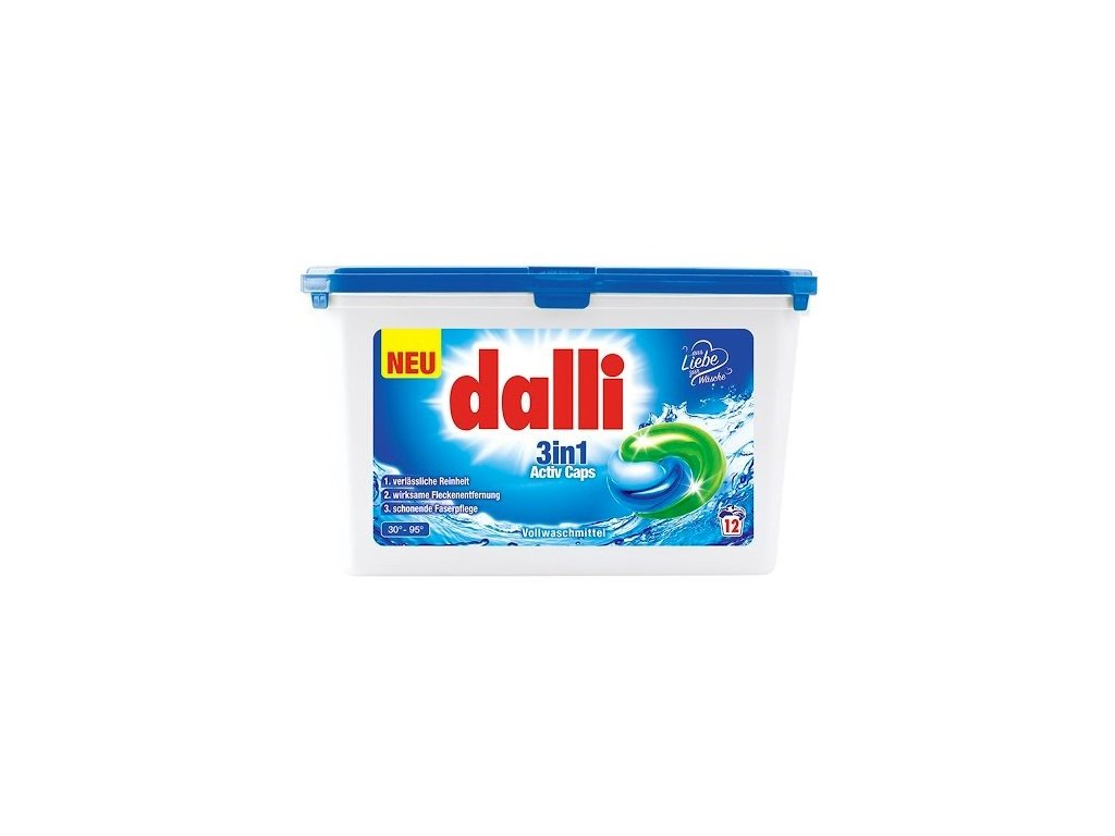 Dalli Activ 3v1 Kapsle na praní 12ks
