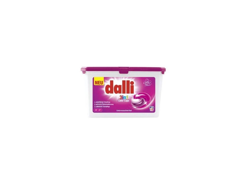 Dalli color 3v1 Kapsle na praní 12ks