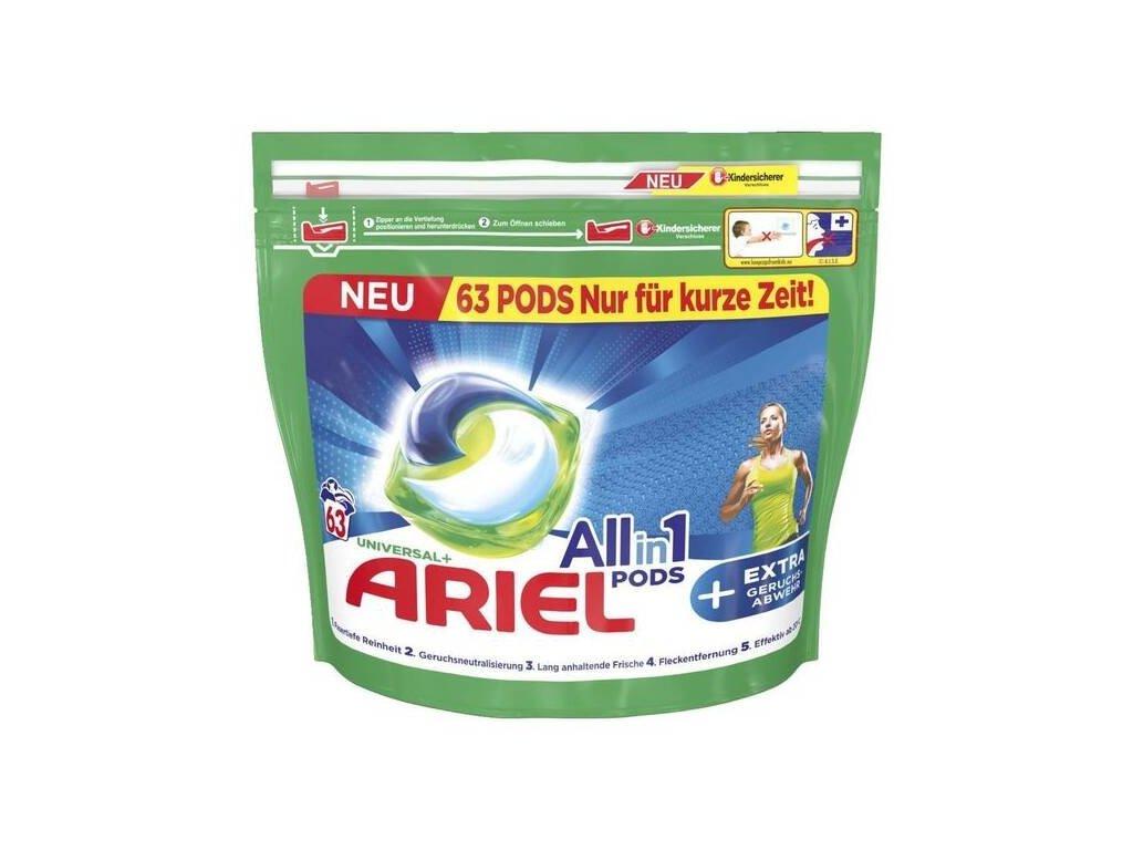 274188 ariel all in 1 universal gelove kapsle na pradlo 63 ks 1 587kg