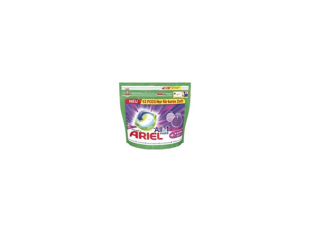 274182 ariel all in 1 color gelove kapsle na barevne pradlo 63 ks 1 581kg