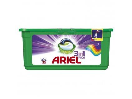Ariel 3v1 Color gelové kapsle na barevné prádlo 30 ks
