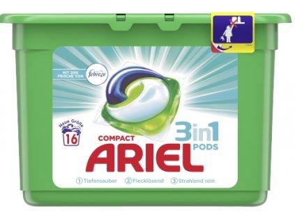 Ariel 3v1 FEBREZE univerzální gelové kapsle 16 ks