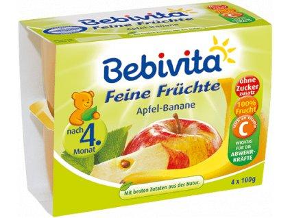 Bebivita Jablka s banány 4x100g2