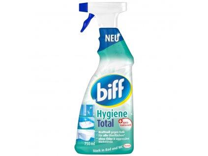 Biff Hygiene Total antibakteriální čistič na koupelny a WC 750 ml