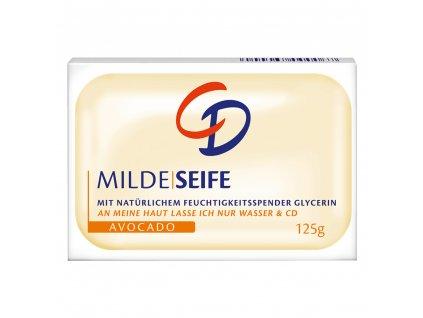 3736 cd jemne mydlo s avokadem pro citlivou pokozku 125g