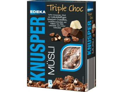 1699 edeka premium musli s kousky cokolady 500g
