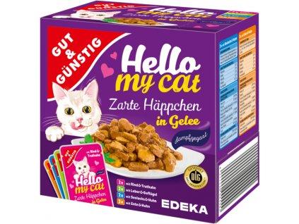 G&G Kapsičky pro kočky v želé 8 ks, 800g